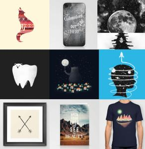 Zach's Society 6 shop!